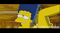 Simpsons Hentai - Cabin of love image