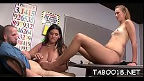 Mouth watering legal age teenager takes pleasure wanking a thick pole Thumbnail