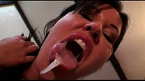 Lolly Badcock spit and snot video