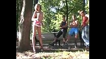 Naughty in public Dirty moves in the crowded park part 2.240p -More on CASTING-COUCH.ML