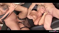 ►► German Mature Caught Cheating by Step Son an...