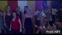 Wild fuck allover the night club everyone having natty moist group sex's Thumb