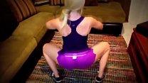 â–¶ â–¶ Jiggly Ass Blondie Yikin' It! pornhub video