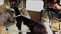 TOUR OF BOOTY - American Soldiers Trade Goat For Some Sweet Arab Pussy Preview