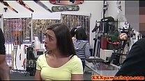 Tattooed Pawnshop Amateur Cockriding After Bj