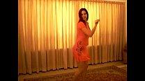 Very sexy arab girl dancing