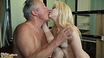 full sex bf » Fat Grandpa Fucks Beautiful 18Yo Two Teens In The Same Time Pussy And Mouth thumbnail
