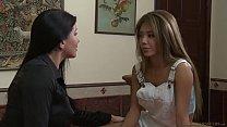 Have you had any lesbian experiences before? - Romi Rain and Ayumi Anime صورة