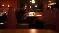 Indian guy eats American breakfast