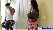 Hard Intercorse Action With Big Tits Slut Mommy...