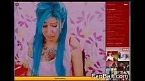 Sexy Emo Cam Whore Breaks Down on FapBait