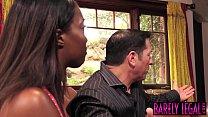 Black teen Daya Knight eats married man cum after banging - 9Club.Top
