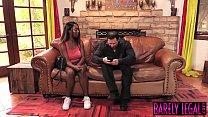 Black teen Daya Knight es married man cum after banging - 9Club.Top