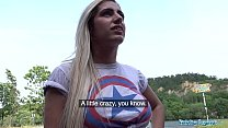 Public Agent Hot Brazilian twerker Mia Linz fucked outoors - Stepson Videos thumbnail