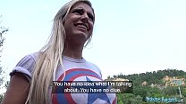 Image: Public Agent Hot Brazilian twerker Mia Linz fucked outoors