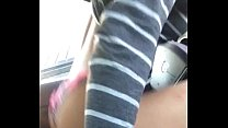 13591 Ebony Rides BF in Car and Enjoys It preview