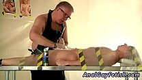 Young boys d bondage gay Master Kane wanks and sucks him, trims his
