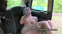 Black dude anal fucks busty cab driver缩略图