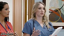 Girlsway Hot Rookie Nurse With Big Tits Has A W