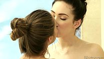Teenie Cassidy Klein and Aria Alexander Lesbian Fun