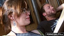 Nerd Girl Jodi Taylor Loves Anal ◦ forced gloryhole thumbnail