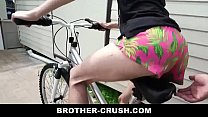 Little Stepbrother Teaches How To Suck And Ride RAW - BROTHER-CRUSH.COM