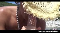 Busty Cougar Deauxma Muff Dives At Texas Swinger Boat Party! image