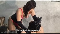 Slaves Swallow The Mistress 039 S Saliva And Chewing Food