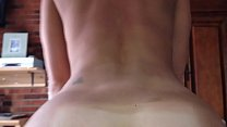 Amateur MILF goes deep and creampies