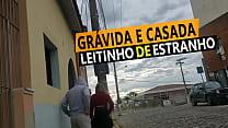 Cristina Almeida Grávida Tomando Leitinho De De