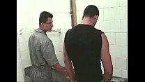 Pegação no banheiro do posto de gasolina (Oftly Goldwin - Boys Fitwork chunk 4)
