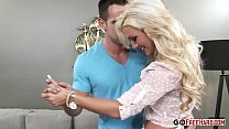 Smoking Hot Blonde Embry Pradas Hairy Pussy Gets Fucked Hard preview image