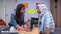BJ Lessons with Big Tits Arab Queen Mia Khalifa pornhub video