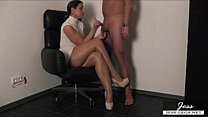 Pantyhose Milking Free Amateur Porn Video e3-Pa...