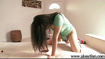 Solo Horny Sexy Girl Use All Kind Of Things In Holes movie-21