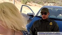 Police grope and compilation xxx Cute ash-blond...