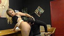 Loan Officer Makes Him Lick Ass To Get a Loan - AJ Applegate صورة