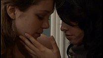 wife seducing anf fucking babysitter in a wonderfull lesbian scene thumbnail