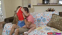 Image: Mom joins teen stepdaughter and her boyfriend - Moms Bang Teens RK