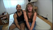 Mature housewife taking black dick in amateur h...
