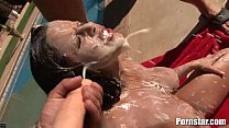 Petite Alyssa Hart Facial - see more at www.freeXXXmovies.pl