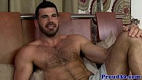 Ripped mature stud bottoms before blowingload