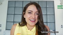 Drilling Latina amateur from behind on wild porn audition Preview