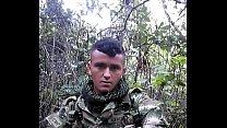 Hetero soldado colombiano engañado/ trciked colombian soldier