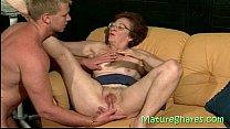 Licking a 70plus vagina thumbnail