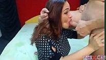 Oral Cum live on webcam. She swallowed..  - TeenX.cam Vorschaubild