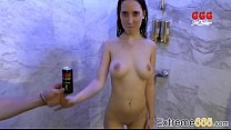 GoldenShower - Lia Louise - 18 and Peed all over
