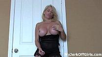 Shoot your sperm on my supple tits JOI pornhub video