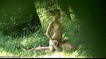 Voyeur forest sex footage