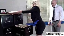 Sex On Cam In Office With Naughty Busty Slut Gi...
